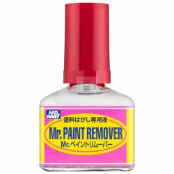 Mr.Hobby T-114 - T-114 Mr. Paint Remover (40 ml), preparat do usuwania farb