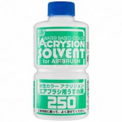 Mr.Hobby T-314 - T-314 Acrysion Thinner for Airbrush (250ml), rozcieńczalnik do farb Acrysion