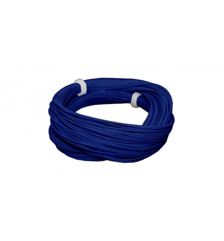 Cienki i elastyczny przewód jednożyłowy do dekoderów i modeli, ø0,5mm, AWG36, 2A, brązowy / 10m (ESU 51948)