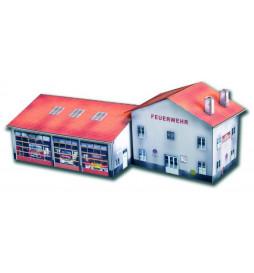 Heki 10112 - Model kartonowy - Budynki straży pożarnej