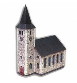 Heki 10100 - Model kartonowy - Kościół