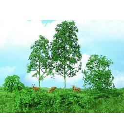 Heki 1670 - Drzewa i krzaki jasnozielone, 15 szt.