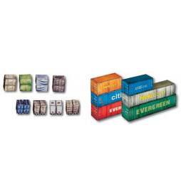 Heki 10650 - Model kartonowy - Kontenery i ładunki