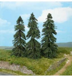 Heki 2156 - Drzewa iglaste 13 cm, 3 szt.