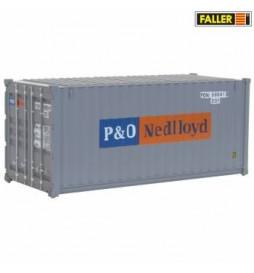 20' Kontener P&O Nedlloyd - Faller 180824