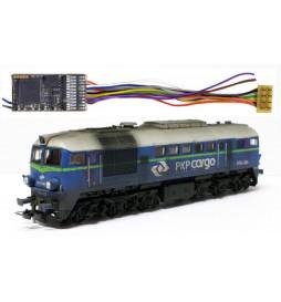 Dekoder dźwięku do modelu ST44 Roco - Zimo MX645R (3W) DCC 8-pin z przewodami