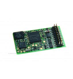 Uhlenbrock 36560 - Dekoder dźwięku i jazdy Uhlenbrock IntelliSound 4 DCC PluX22