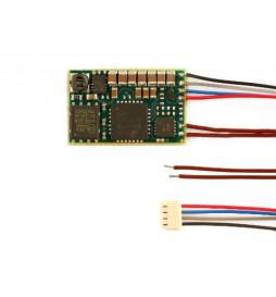 D&H SD10A-3 - Dekoder jazdy i dźwięku DCC/SX/MM z przewodami