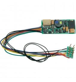Uhlenbrock 33120 - Dekoder dźwięku i jazdy Uhlenbrock IntelliSound 3 DCC 8-pin z przewodami