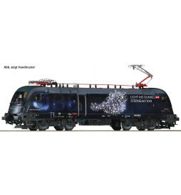 """Roco 73238 - Lokomotywa elektryczna 1116 158 ÖBB,""""Licht ins Dunkel"""", DCC z dźwiękiem"""