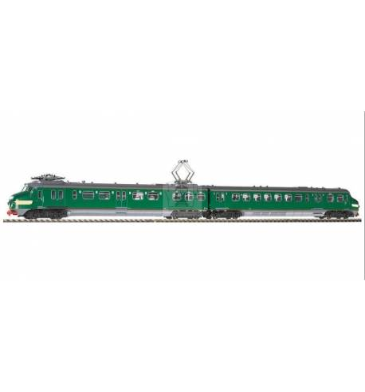 El.Zesp.Trak. NS III zielona (żółte pasy) - Piko 57525