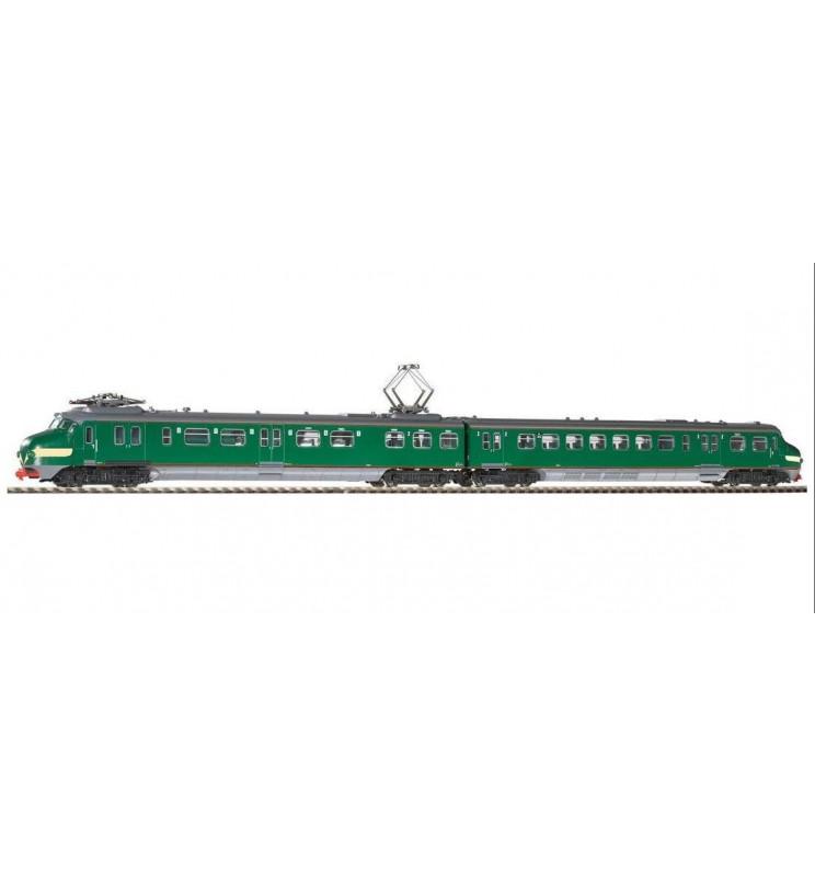 Piko 57525 - Elektryczny Zespół Trakcyjny NS ep. III zielony (żółte pasy)