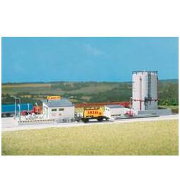 Auhagen 12264 - Skład paliw ze zbiornikiem H0/TT