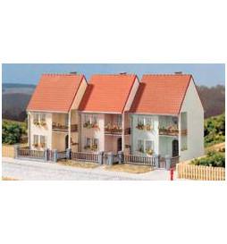 Auhagen 13273 - Domy w zabudowie szeregowej TT