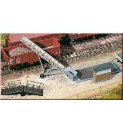 Auhagen 13317 - Wyposażenie placu ładunkowego TT