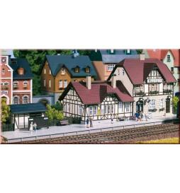 Auhagen 13321 - Dworzec kolejowy Moorbach TT