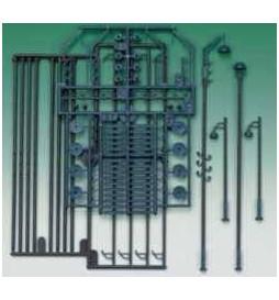 Auhagen 42554 - Latarnie przemysłowe