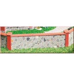 Auhagen 42651 - Mur kamienny H0/TT