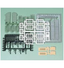 Auhagen 48551 - Zestaw akcesoriów do budynków przemysłowych