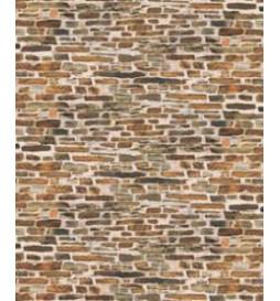 Auhagen 50115 - Dekorpappen Kalksteinmauer