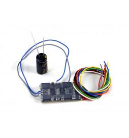 Dekoder jazdy i oświetlenia Zimo MX632 DCC 9-kabli
