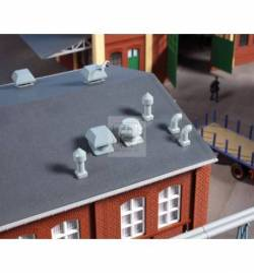 Auhagen 80103 - Wywietrzniki dachowe