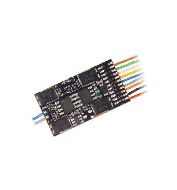 Dekoder jazdy i oświetlenia Zimo MX632F DCC 6-pin