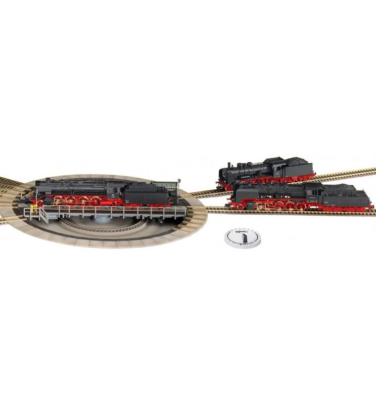 Fleischmann 6152 - Duża obrotnica elektryczna z automatycznym pozycjonowaniem