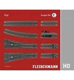 "Fleischmann 6191 - Zestaw torów Profi ""C"""