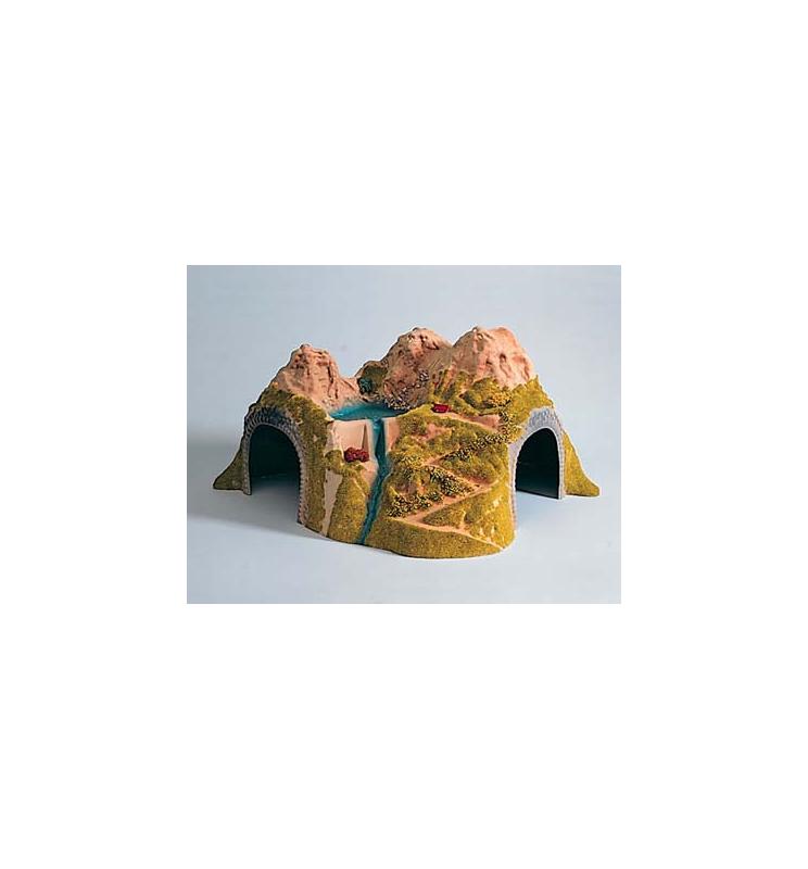 Tunel na 2 tory zakrzywiony - Piko 55721