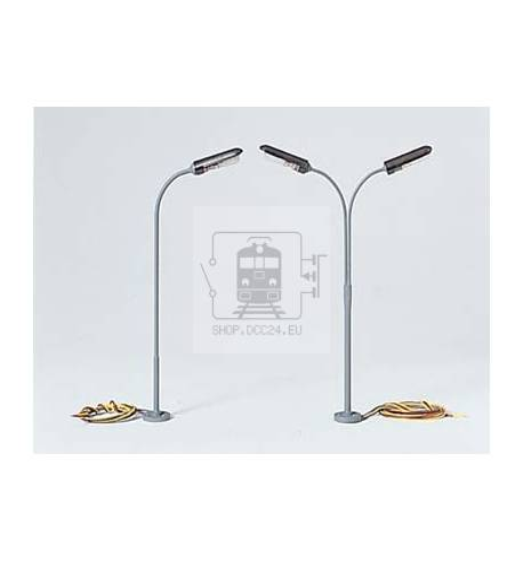 Lampa uliczna jednoramienna 120 mm - Piko 55754