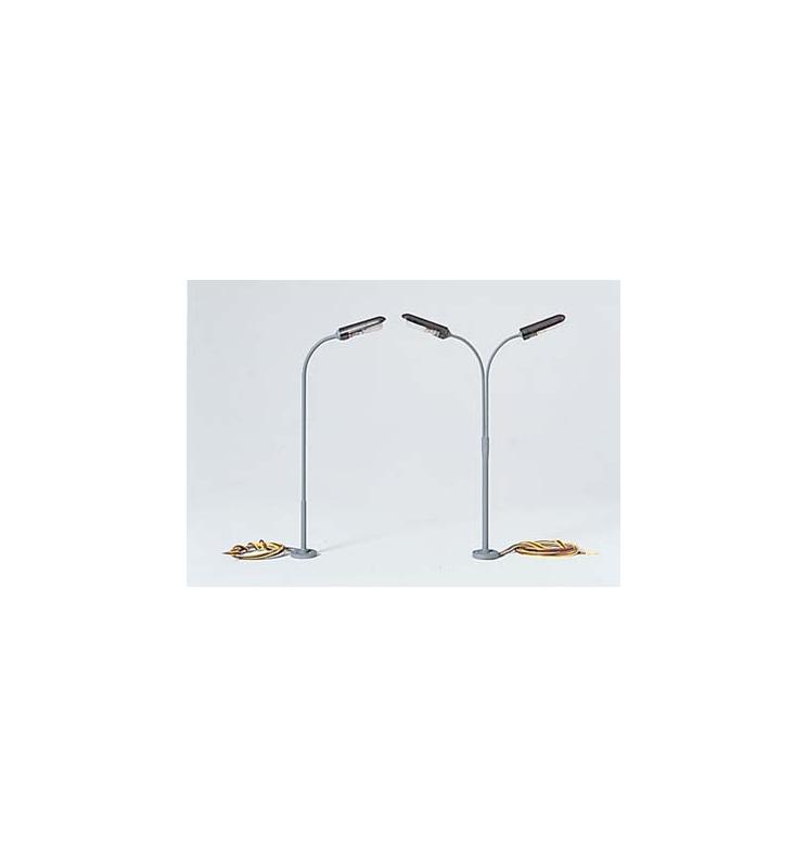 Lampa uliczna dwuramienna 120 mm - Piko 55755