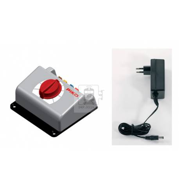 Piko 55000 - Zasilacz (regulator) analogowy do kolejki