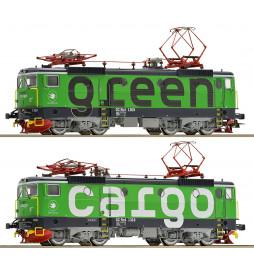 Roco 73457 - Zestaw dwóch lokomotyw elektrycznych Rc4 Green Cargo SJ, DCC z dźwiękiem