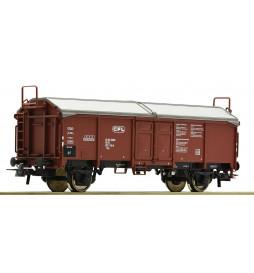Roco 76783 - Wagon towarowy z rozsuwanym dachem CFL