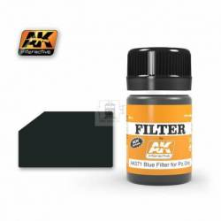 AK-071 - FILTER FOR PANZER GREY VEHICLES ( AK Interactive 071 )
