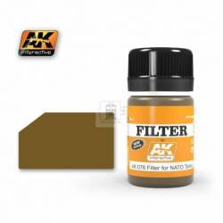 AK-076 - FILTER FOR NATO VEHICLES ( AK Interactive 076 )