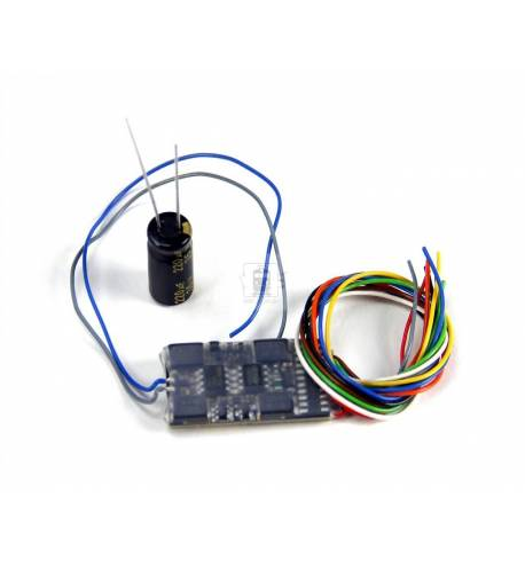 Dekoder jazdy i oświetlenia Zimo MX632W DCC 11-kabli wersja niskonapięciowa 5V