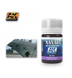 AK-305 - STREAKING GRIME FOR LIGHT GREY SHIPS ( AK Interactive 305 )