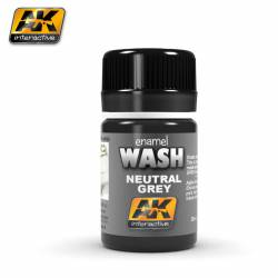 AK-677 - NEUTRAL GREY FOR WHITE/BLACK WASH ( AK Interactive 677 )