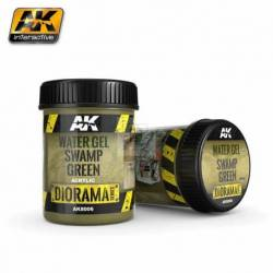 AK-8006 - WATER GEL SWAMP GREEN EFFECTS - 250ml (Acrylic) ( AK Interactive AK8006 )