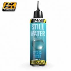 AK-8008 - STILL WATER - 250ml (Acrylic) ( AK Interactive AK8008 )