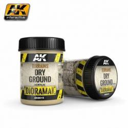 AK-8015 - TERRAINS DRY GROUND - 250ml (Acrylic) ( AK Interactive AK8015 )