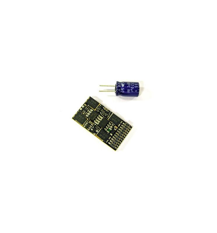 Dekoder jazdy i oświetlenia Zimo MX632D DCC 21-pin