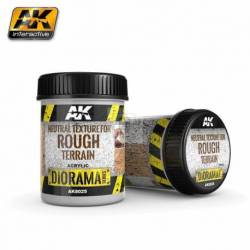 AK-8025 - NEUTRAL TEXTURE FOR ROUGH TERRAINS - 250ml - Base product (Acrylic) ( AK Interactive AK8025 )