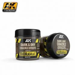 AK-8032 - DARK & DRY CRACKLE EFFECTS - 100ml (Acrylic) ( AK Interactive AK8032 )
