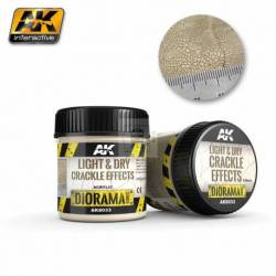 AK-8033 - LIGHT & DRY CRACKLE EFFECTS - 100ml (Acrylic) ( AK Interactive AK8033 )