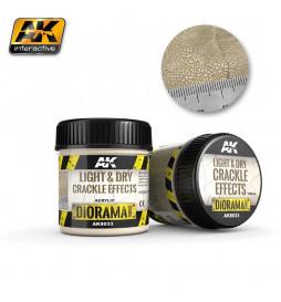 AK-8033 - LIGHT & DRY CRACKLE EFFECTS - 100ml (Acrylic) ( AK Interactive AK8033 )