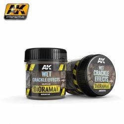 AK-8034 - WET CRACKLE EFFECTS - 100ml (Acrylic) ( AK Interactive AK8034 )