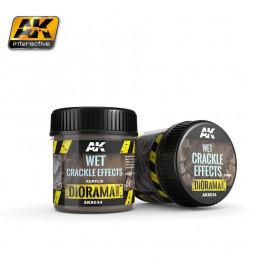 AK-8034 - WET CRACKLE EFFECTS - 100ml (Acrylic) ( AK Interactive AK8034 )